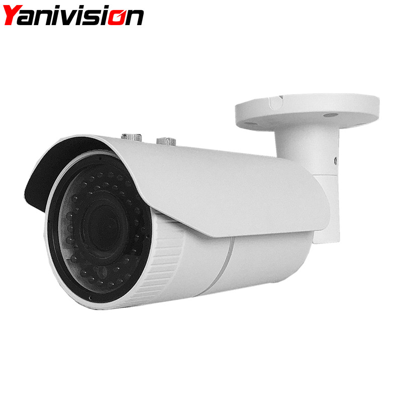 ONVIF 2.4 Motorized Zoom CCTV IP IR Infrared Camera Day & Night View 1080P 2 Megapixel Outdoor Waterproof Cam