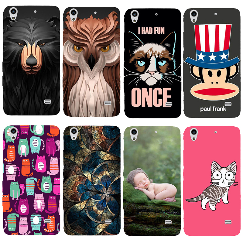 For Huawei Ascend G620s/ Honor 4 Printed Case Luxury Hard Plastic Drawing Phone beautiful Original picture Back Cover