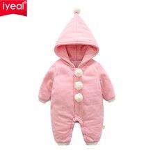 ee9593873 IYEAL batas de bebé recién nacido ropa de bebé de invierno mameluco de  manga larga cálido bebé niña ropa de niño chico s monos c.