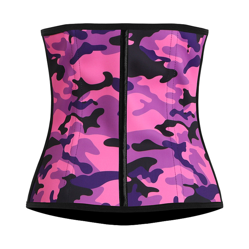 Camouflage Waist Trainer Corset Slimming Belt Body Shapers Corset Modeling Strap Slim Corset Steel Bone Waist Cincher