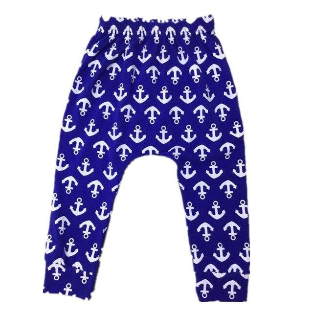6Pcs/Lot 2017 Fashion Baby Girls Boys Cartoon Pants Infant Newborn Baby Cartoon PP Trousers Cotton 35F