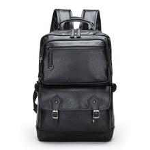 Backpack male student backpack upscale mens s retro waterproof backpacks bag