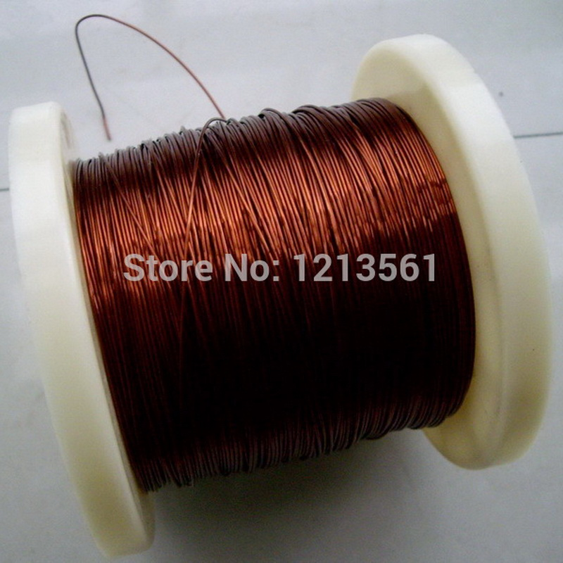 1.28mm QZY-2-180 High temperature  Wire Magnet Wire 10m Enameled  wire Magnetic Coil Winding Item specifics