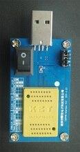 KZT TSOP48 LGA52 BGA100 BGA132 BGA152 to DIP48 Alcor AU6989SN SSD Chips Flash Cleaner Flash Good
