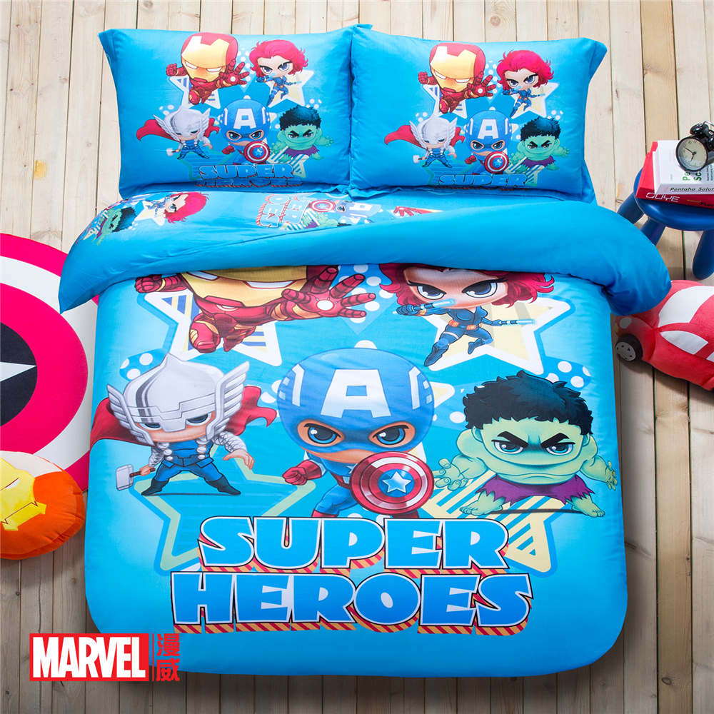Avengers bedding twin - The Avenger Super Heroes 3d Printed Bedding Set Bedspread Coverlets Duvet Cover Full Queen Size Cotton