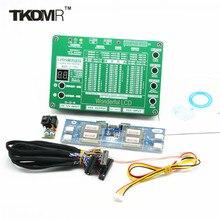 """TKDMR 5 Generación Portátil LED TV LCD Probador Herramienta Pantalla Soporte 7-55 """"W/Lampara de Interfaz LVDS Cables e Inverter Envío Gratis"""