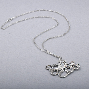 Octopus Long Chain Necklace5