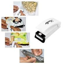Plastic Household Mini Capper Portable Portable Plastic Bag Sealing Machine with Metal Heating Head Home Tools