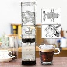 400 ml de agua fría cafetera de goteo hogar clásico holandés hielo cafetera cafetera de café helado de cerveza fría de alta calidad