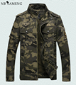 Jacket Men Coat Army Brand Clothing 2016 Mens Tactical Jackets Stand Collar Casual Camouflage Coats Size M-XXXL NSWT212