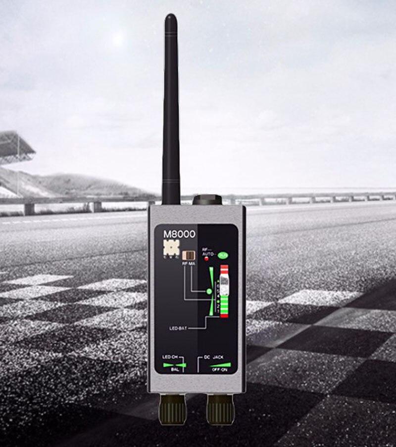 Detector de M8000 CÁMARA DE X GPS rastreador de escáner Cámara detectores Anti espía lente CDMA, GSM, dispositivo de Monitor - 5