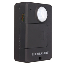 Hot Sale Mini GSM PIR Alarm Motion Dection Wireless PIR Alert Infrared GSM Alarm A9 Security Monitor Alert