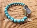 wholesale Natural Gem stone Bracelets Turquoise  Geode Agate Druzy Bracelets