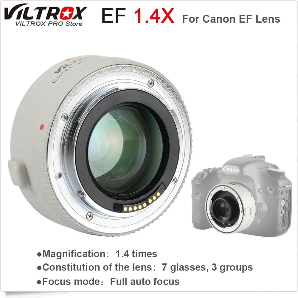 VILTROX 1.4X Teleplus Auto Focus Teleconverter Extender Telephoto Converter for Canon EOS & EF lens 70-200mm 5D3 5D2 700D 70D viltrox 1 4x teleplus auto focus teleconverter extender telephoto converter for canon eos