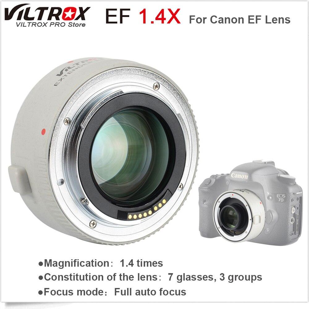 VILTROX 1.4X téléconvertisseur de téléobjectif à mise au point automatique téléconvertisseur pour objectif Canon EOS & EF 70-200mm 5D3 5D2 700D 70D