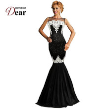RJ80196 Comeondear Fashion Elegant Party Dress 5 Color Sequined Highly Recommended Women Formal Dresses New Mermaid Long Dress