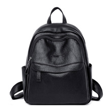 Women Backpack Female Designer High Quality Leather Bag Backpacks for Women Girls Fashion School Bags Brand Black Travel Bags