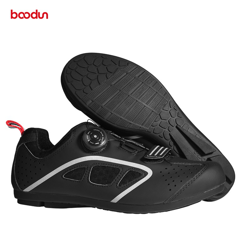 Professional C5 Cycling Shoes Non-locking Breathable Mountain Road Bike Bicycle Riding MTB Non-slip Racing