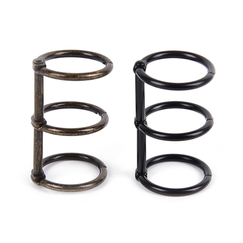 New A5 A6 Metal Spiral Binder Clip Stainless Steel Binder File Folder Clip Ring Binder Clip Iron Clip