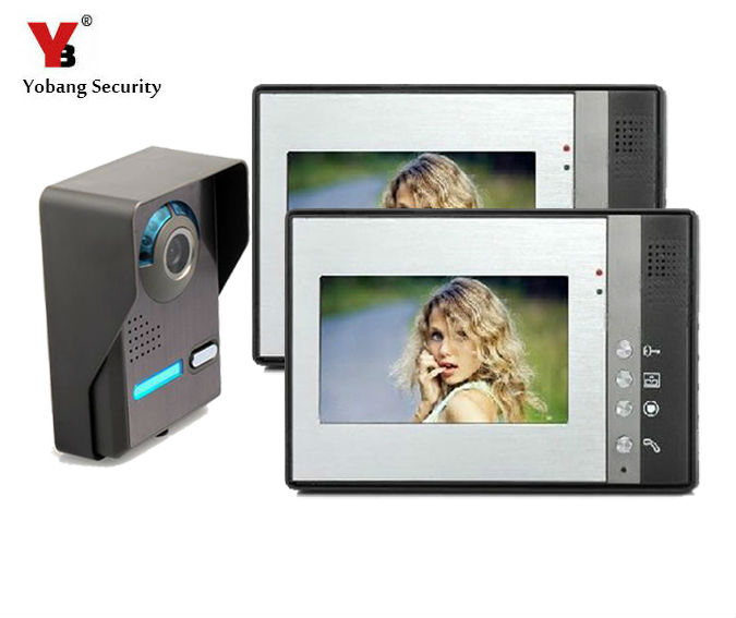 Yobang Security  video portero color Video Door Phone with LCD Security Monitor HD visual intercom Rainproof Door Phone doorbellYobang Security  video portero color Video Door Phone with LCD Security Monitor HD visual intercom Rainproof Door Phone doorbell