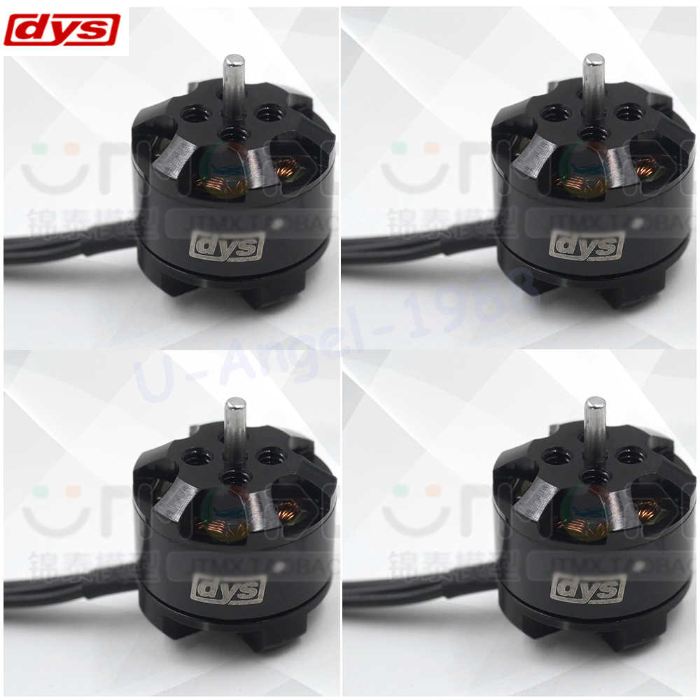 4pcs lot DYS BE1104 1104 Brushless Motor 4000KV 5400KV 7500KV 2 3S For 100 120 150