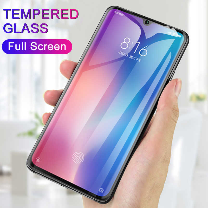 For Xiaomi Mi9 SE Tempered Glass for Xiaomi Mi A2 9 8 Lite Max 3 Pro Pocophone F1 Mi8 SE Mi A1 6X 5X Screen Protector Cover Film