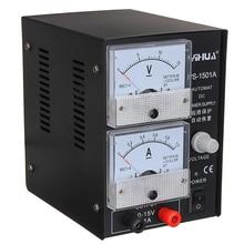 1Pcs 110V / 220V Adjustable DC power supply 15V/1A Communication and maintenance dedicated Regulated power supply