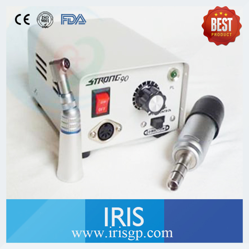 Dental Lab Polisher Micromotor Hand piece 35000 RPM For Electric Polisher Strong 90 108E Contra Angle Machine автомагнитола swat mex 1008ubw