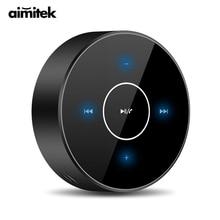 A6 przenośny głośnik TWS Bluetooth bezprzewodowy Panel dotykowy Subwoofer Stereo AUX karta Audio TF odtwarzacz MP3 z mikrofonem do smartfona PC