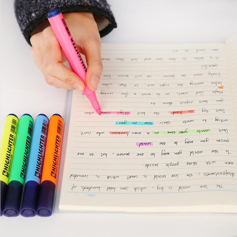 Αποτέλεσμα εικόνας για highlighter marker notebook