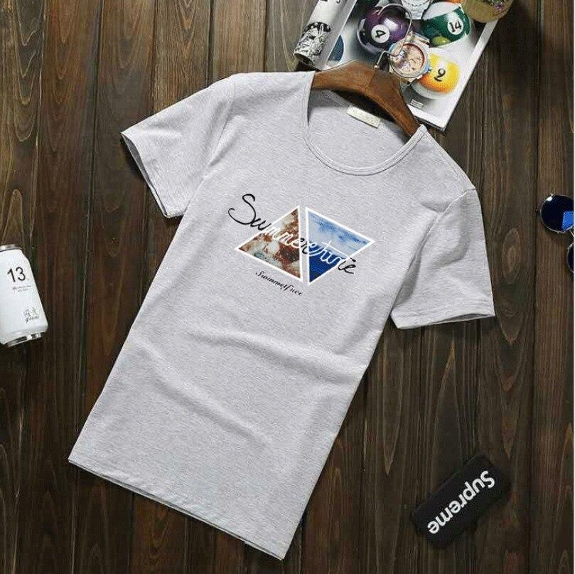 Abbigliamento molti colori con scollo a manica Corta da Uomo T Camicia Degli Uomini di Modo di formato Europeo Magliette Casual Per Il Maschio T-Shirt top