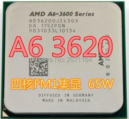 Для AMD A6-3620 quad-core Socket FM1 2.3 ГГц рабочего процессора