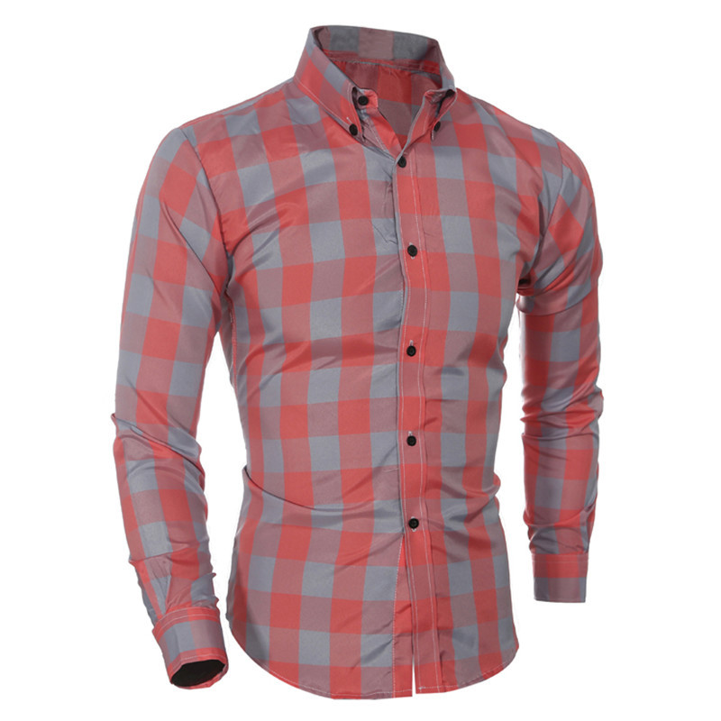High Quality Fitted Button Down Shirts for Men-Buy Cheap Fitted ...