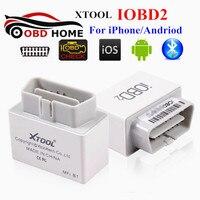 Недавно XTOOL IOBD2 Bluetooth OBD2 EOBD Авто Сканер Чтения Кодов неисправностей Для IOS и Android Автомобиля Диагностический Инструмент
