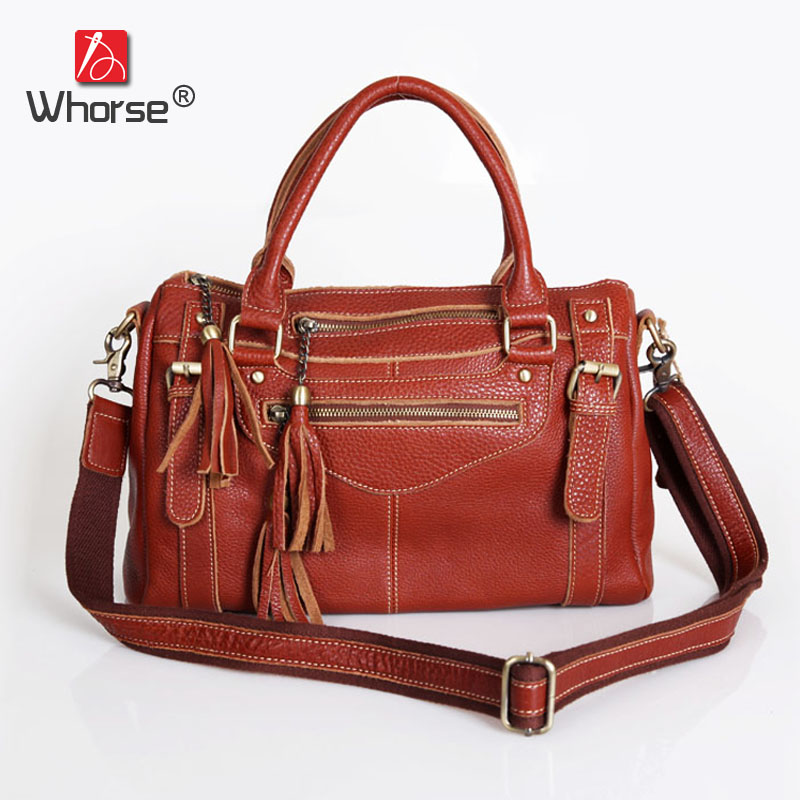 Top Quality Vintage Casual Motorcycle Bag Real Cowhide Womens Genuine Leather Designer Handbag Messenger Bags For Women W092146 top quality handmade vintage casual bag genuine leather womens real cowhide designer handbag messenger bags for women w092544