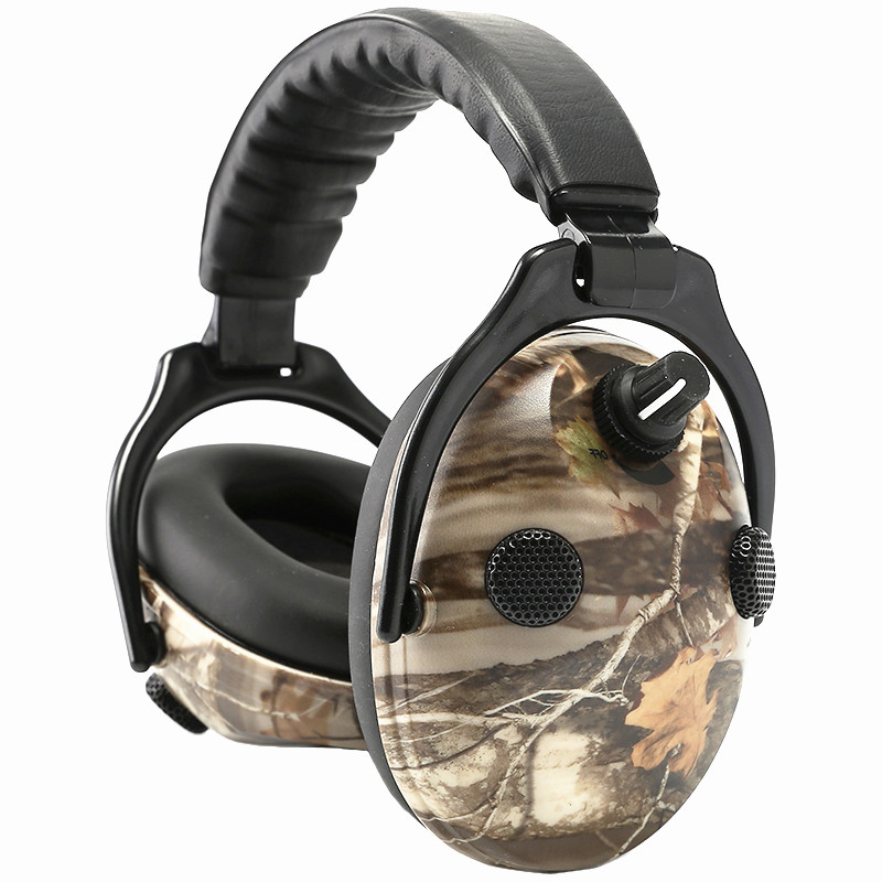Protection Auditive électronique Oreilles Bruit Réduction Chasse Casque Tactique Casque pour Tir Protecteur de L'oreille Oreille Manchons
