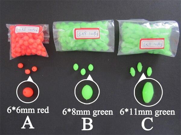 fishing beads types