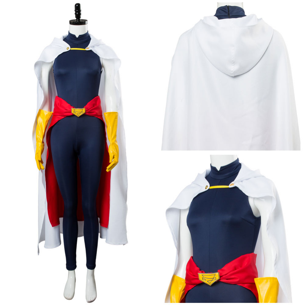 Boku no My Hero Academia Cosplay Shimura Nana Costume Cloak Full Set Adult Halloween Carnival Costume Men Women Custom