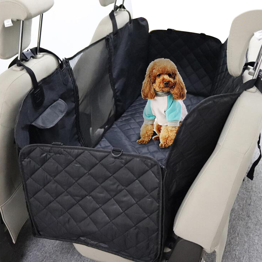 Dog Oxford Fabric Car Seat Covers Waterproof Pet Back Bench Seat Travel Car Seat Covers Mat for Small Medium Large PetDog Oxford Fabric Car Seat Covers Waterproof Pet Back Bench Seat Travel Car Seat Covers Mat for Small Medium Large Pet