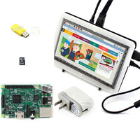 TFT Raspberry Pi HDMI screen raspberries pie 3 generation of type B band 7 inch capacitive touch HDMI screen SD card