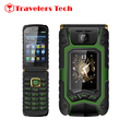 3.5 Inch Dual Screen flip phone Rover X9 1500mAh Dual SIM One-key Dial And Call Mobile Phone One Touch Screen Russian Keyboard