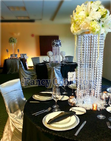 Audacious Wedding Acrylic Crystal Table Centerpiece Flower Stand Table Decor Wedding Props 10pcs/lot We Take Customers As Our Gods Vases