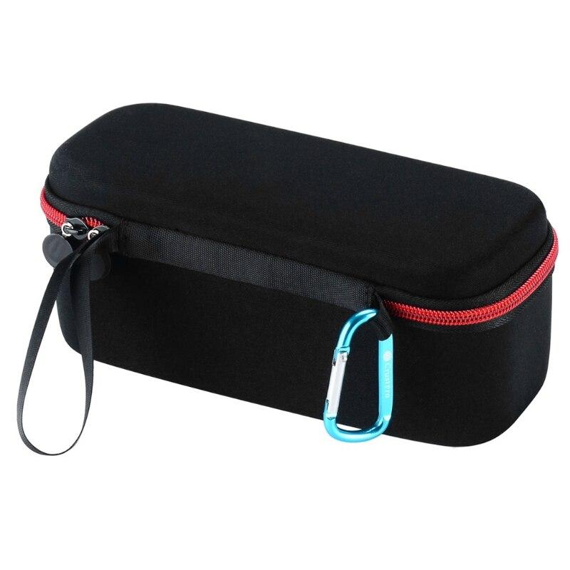 Caixa de saco portátil eva zíper caso duro para anker soundcore pro bluetooth alto-falante para ue boom 3