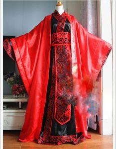 Image 2 - Hanfu de Boda China tradicional Universal para novia y novio, traje de boda para parejas, conjunto de Hanfu, cos Xie Lian