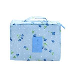 Image 5 - Estuche para maquillaje multifuncional, bolsa de viaje para cosméticos, bolsa de almacenamiento organizadora