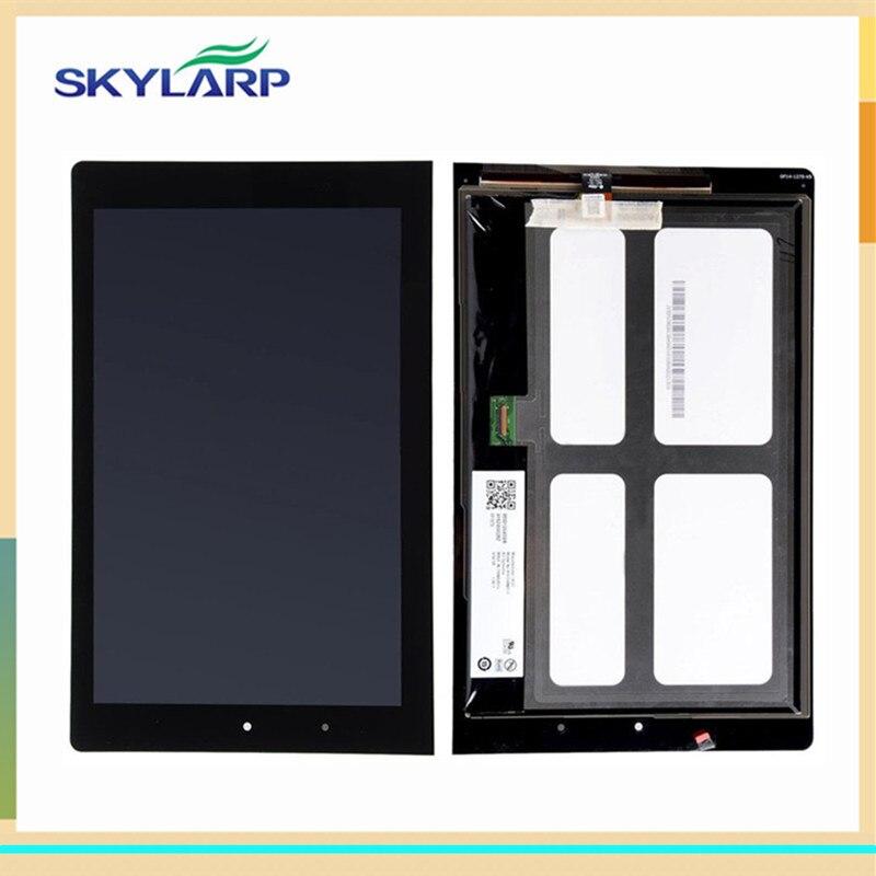 ФОТО Black LCD for Lenovo B8080 Yoga Tablet 10 HD Plus (PRC) Tablet PC LCD screen display panel glass free shipping