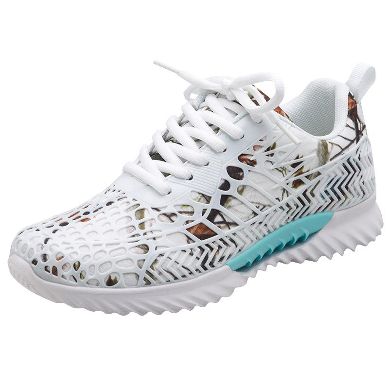 Summer new high quality women running shoes for female mesh breathable fly weaving sport shoes air cushion Travel shoes Sneakers