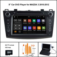 Android 5 1 Quad Core CAR DVD Player For MAZDA 3 2004 2009 GPS CAR RADIO