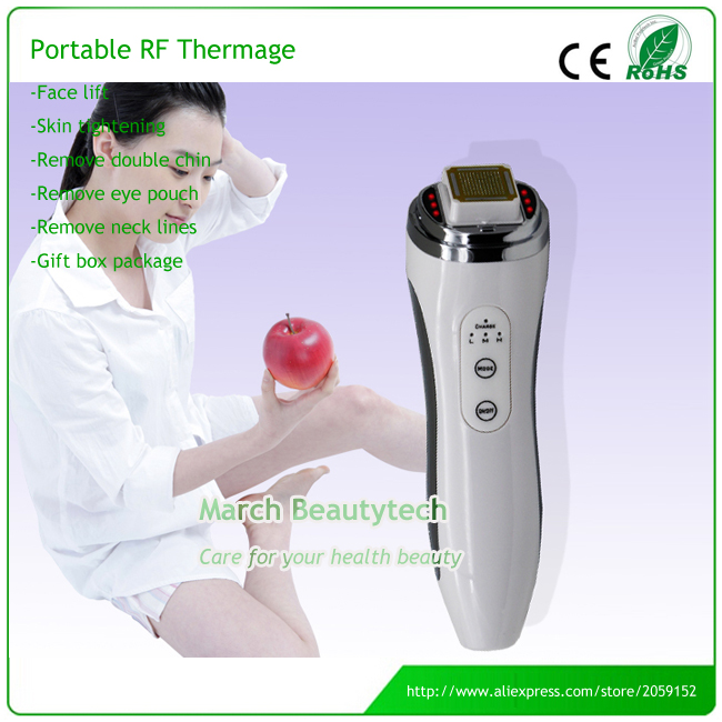 Rechargable RF Radio Frequency Face Lifting Tightening Wrinkle Removal Face Skin Care RF Thermage Facial Massage RF Dot Matrix thermage facial rf radio frequency for lifting face lift body skin wrinkle removal skin tightening beauty care