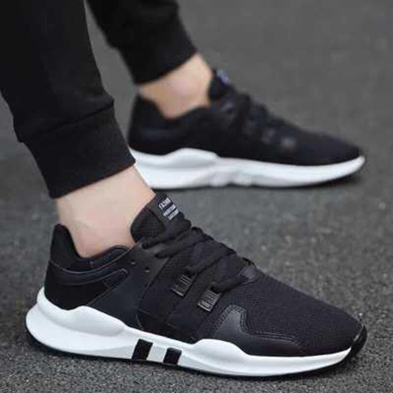 2018 Casual Style Black D'été Chaussures Sneakers Respirante Nouveau Super Confortables white Hommes En Maille colorblock Lumière SGUqMpzV
